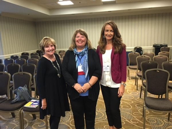 Pat Clark, Vycki Haught and Kim Sellers-Project AWARE Warren County