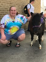 A huge thank you to Maggie's Mini Therapy Horses