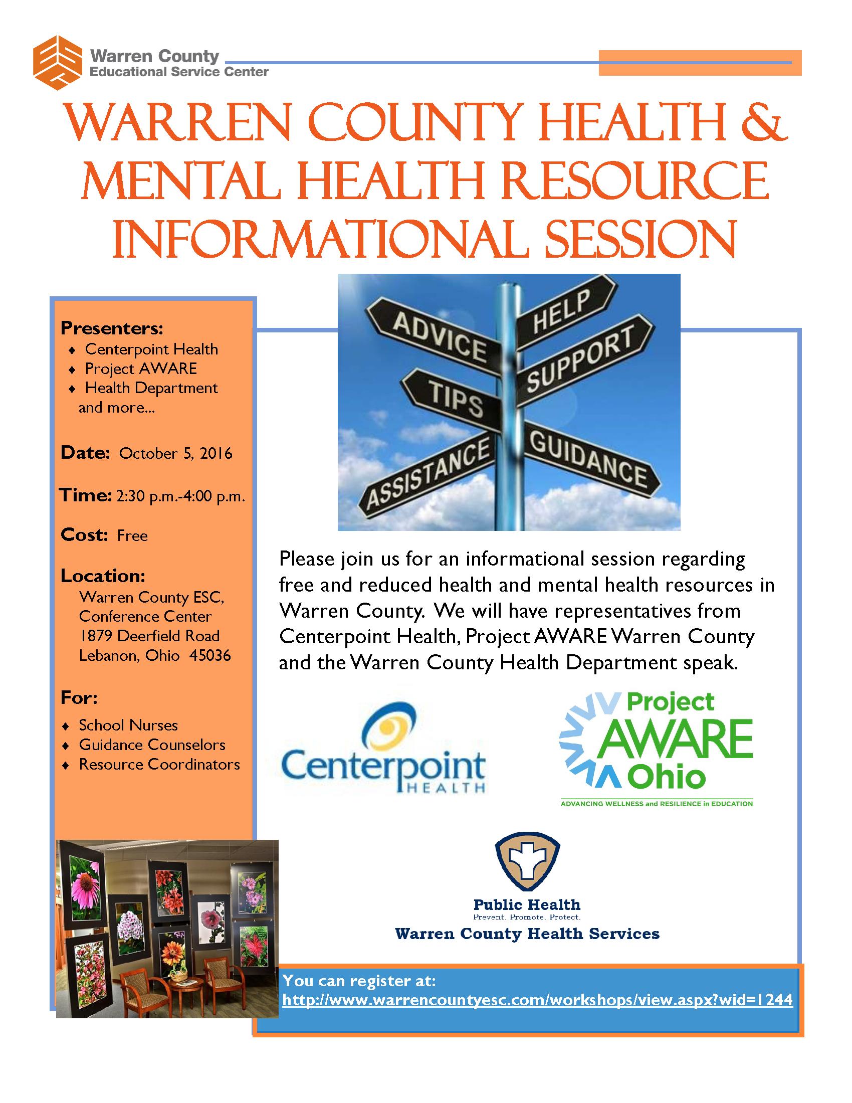 mental health workshops