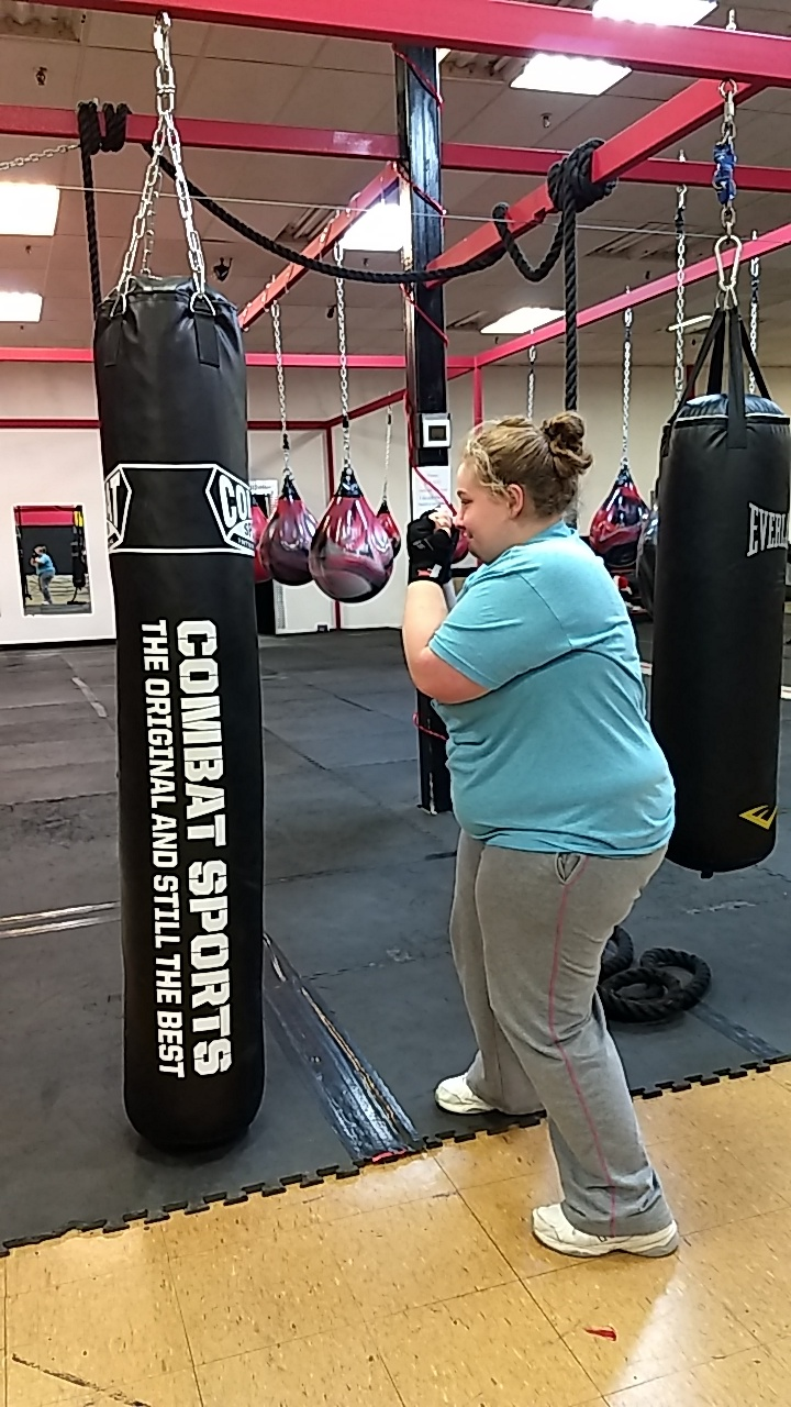 Students Boxing for Success at the Warren County Learning Center