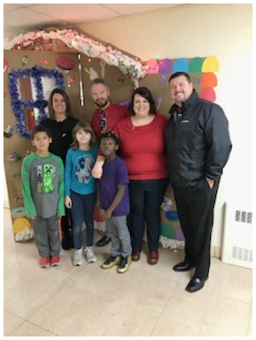 Students and staff at the Warren County Learning Center hosted a Holiday Open house